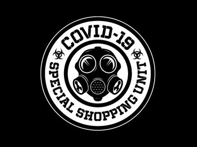 Covid 19 Special Shopping Unit biohazard gas mask covid 19