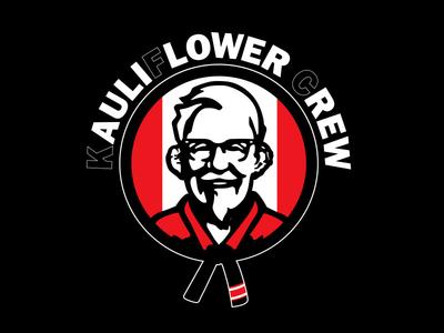 Kauliflower Crew parody illustration bjj jiujitsu