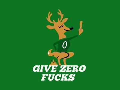 2020 deer branding basketball parody nba bucks illustration