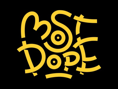 Most Dope Monday 1 pittsburgh 1 year project typography most dope mac miller
