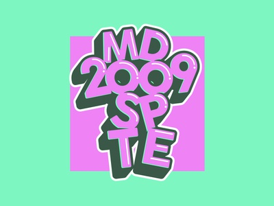 Most Dope Monday 3 mostdopemonday 2009 typography most dope mac miller