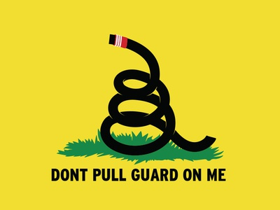 Don't pull guard.