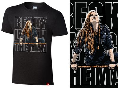 Becky Lynch - The Man wrestling becky lynch wwe