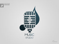 Music Studio Logotype