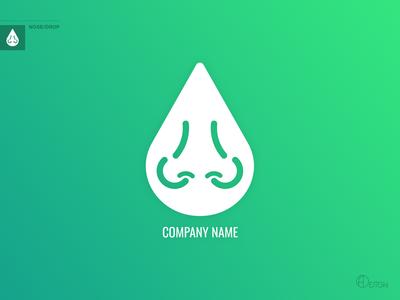 Nose/Drop Logotype
