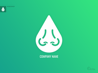 Nose/Drop Logotype