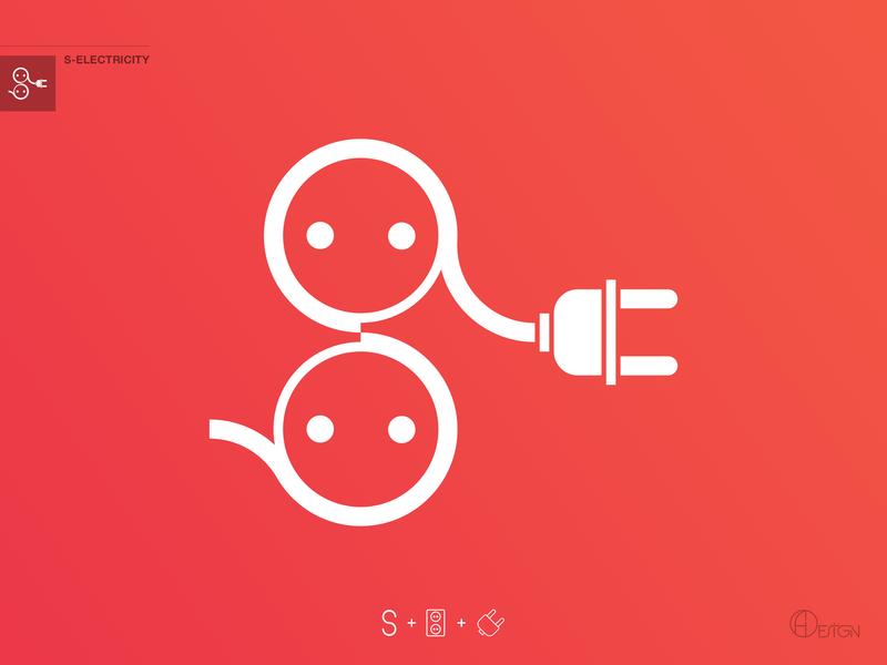 S-Electricity socket electric electricity s logo corporate design corporate branding ux ui logotipe creative vector minimal logo illustrator illustration identity design flat branding logoforsale