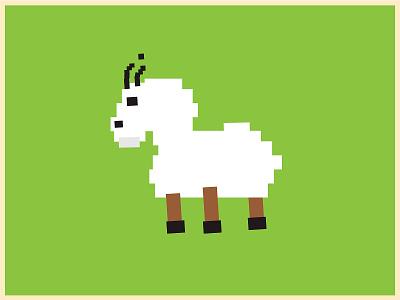 Goat Guy illustrator clean flat illustration design vector