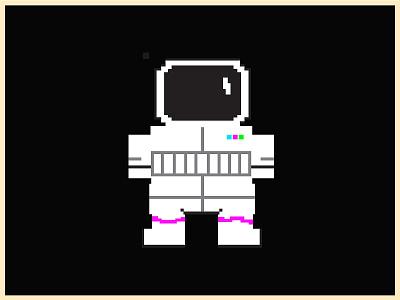 Astro Guy clean flat illustrator illustration design