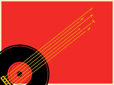 Vietnam Music Poster minimal clean flat vector illustration illustrator design