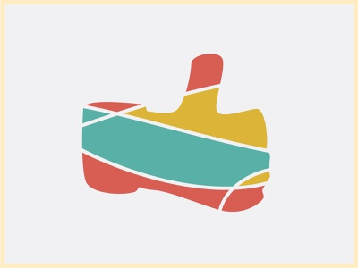 rewire Unused Brand Element Thumb icon minimal vector branding flat clean illustrator illustration design