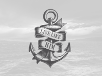 Live Like Him Anchor Graphic