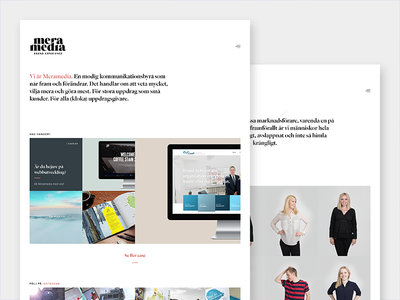 Meramedia Agency - Website