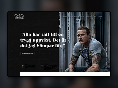 Patrik Sjöberg - website