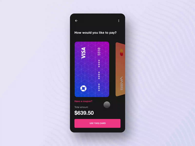 Payment Process Flow face id motion cart process animation interaction ux ui app payment app payment gateway ios mobile online credit card payment