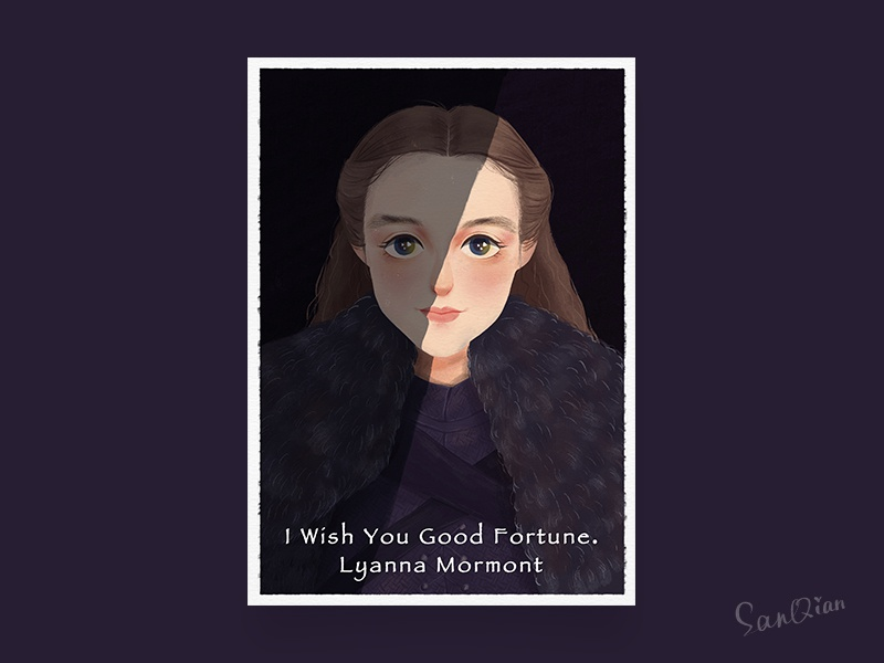 Lyanna Mormont got