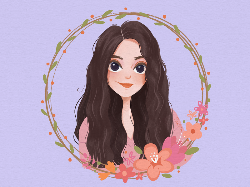 MyBestFriend art draw friendship friend girls flowers design drawings illustration