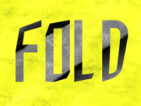 FOLD Typography