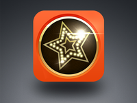 Star.FM icon 闪瞎我的钛合金X眼