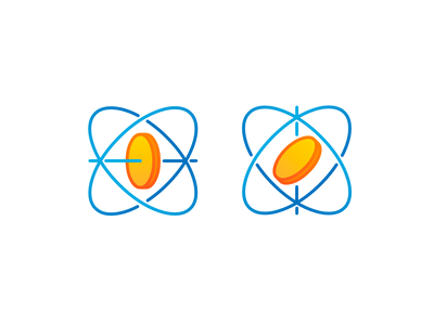Gyroscope logo variations