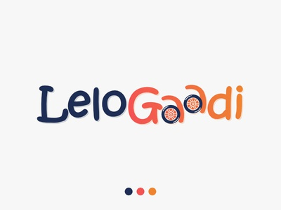 Logo Design orange blue logotype logo design creative affinity design affinitydesigner illustation ui vector identity branding design logo