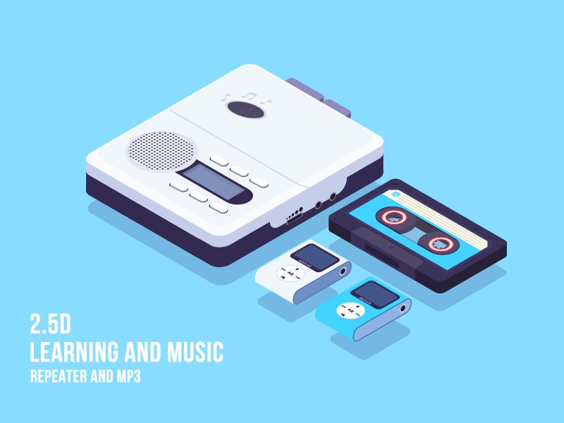 2.5d-Learning and music