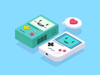 2.5D—BMO And Game Boy