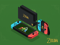 2.5D-Switch for The Legend of Zelda link