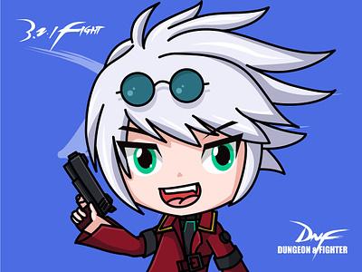 DNF-Gunner gunner design game illustrator gun man dnf