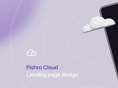 Pishro Cloud - Details section list pricing card cloud ui cloud website home page landing page minimal ui