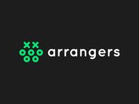 Arrangers mobile game logo design