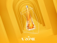 Arôme - Poster Campaign - Honey