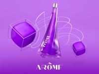 Arôme - Poster Campaign - Lavender