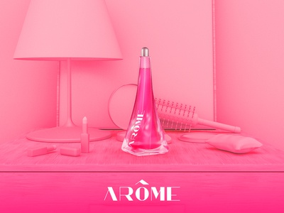 Arôme - Poster Campaign - Sweet Pea