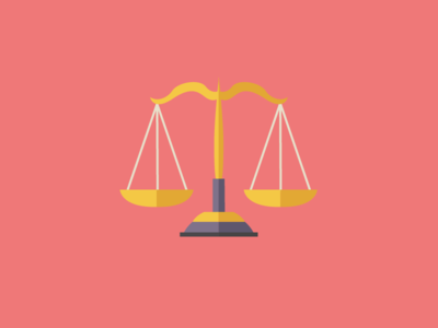 Freebie - Law Icon scale pink freebie icon law