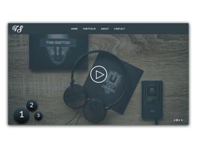 Music Web ios coloful identity mobile illustrator type lettering website ux app web branding typography logo ui icon illustration gradiant flat design