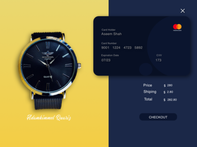 Cradit Card Chechout sketch designers app illustration typography ux ui design daily 100 ui ios