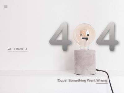 404 Error Page website web illustrator flat error page 404 page daily 100 challenge design ux ios ui app
