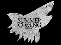 Summer is Coming | House Shark Tee