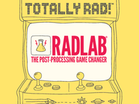 Print Collateral for Totally Rad!