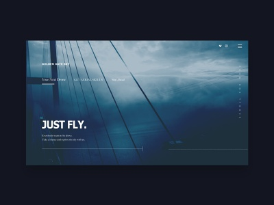 How to Fly a Drone ux ux design concept website concept webdesign web web 3.0 uidesign ux  ui uipractice design