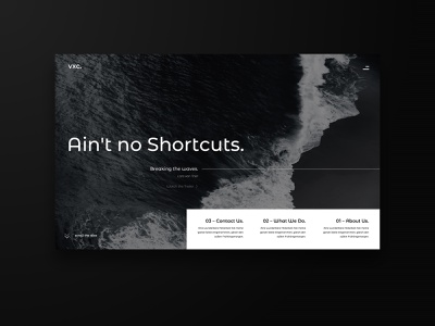 Ain't no Shortcuts ux  ui uidesign web website concept typography graphicdesign webdesign web 3.0 concept uipractice ux design ux ui  ux ui design