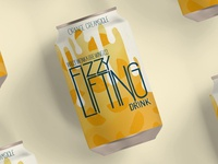 Fizzy Lifting Drink Can - Orange Creamsicle