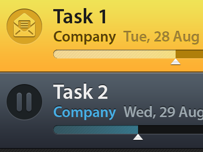 Task list list bb10 mobile app
