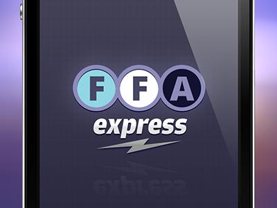 FFA identity logo mobile purple