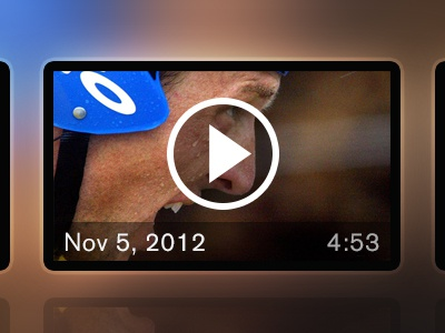 Video Gallery video player