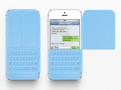 Iphone Smart Cover Keyboard iphone keyboard concept cover