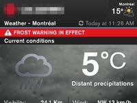 V2dark10 weather