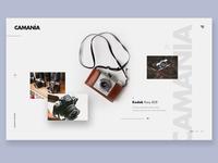 Camania, camera lover site