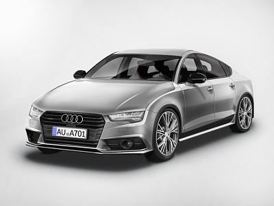 Audi A7  ui